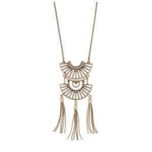 Sunlit Savannah Convertible Tassal Necklace